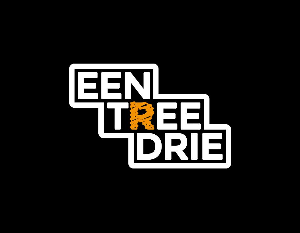 Logo Een Tree Drie | Kleurrijke leerzame basisschooltrappen
